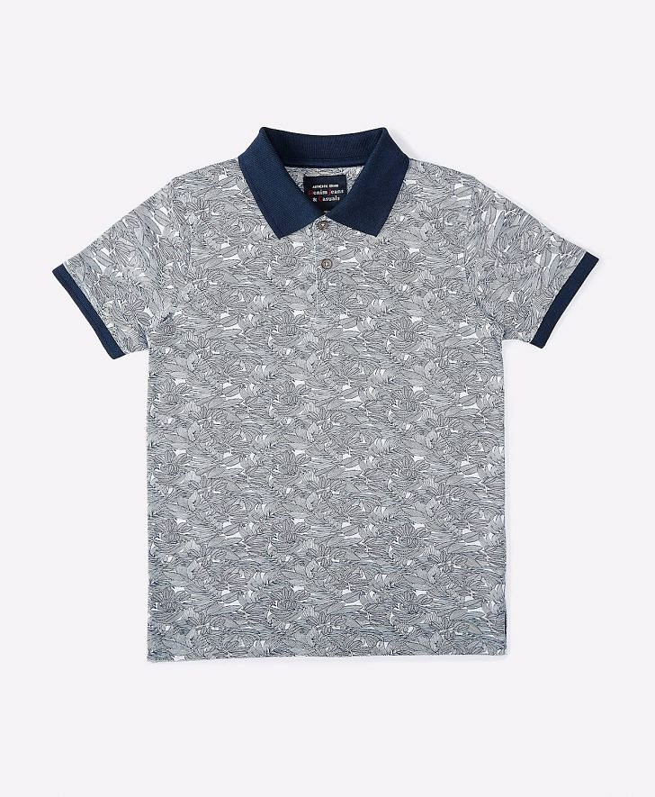 Buy DJ & C Boys Printed Polo T-Shirt Online at fbb